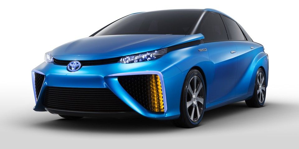 Toyota FCV concept previews $100K hydrogen-powered production car