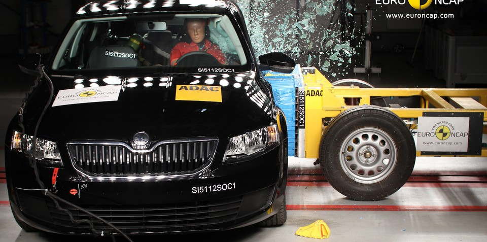 Skoda Octavia earns five-star ANCAP safety rating