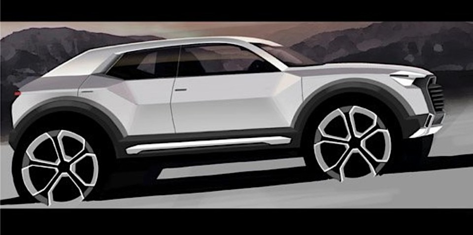 audi q1 subcompact suv to launch in 2016. Black Bedroom Furniture Sets. Home Design Ideas