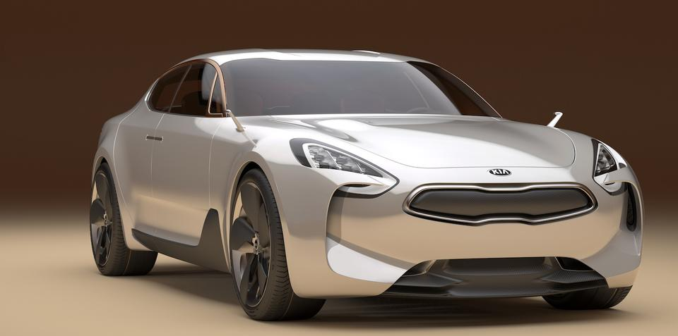 Kia GT concept likely for production before GT4 Stinger