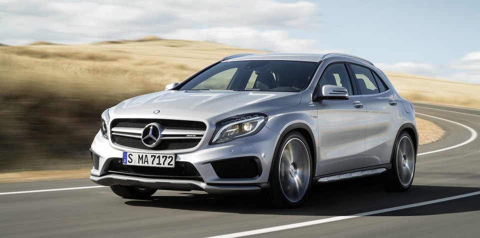 Mercedes-Benz GLA45 AMG : 265kW, 4.8sec 0-100km/h crossover revealed