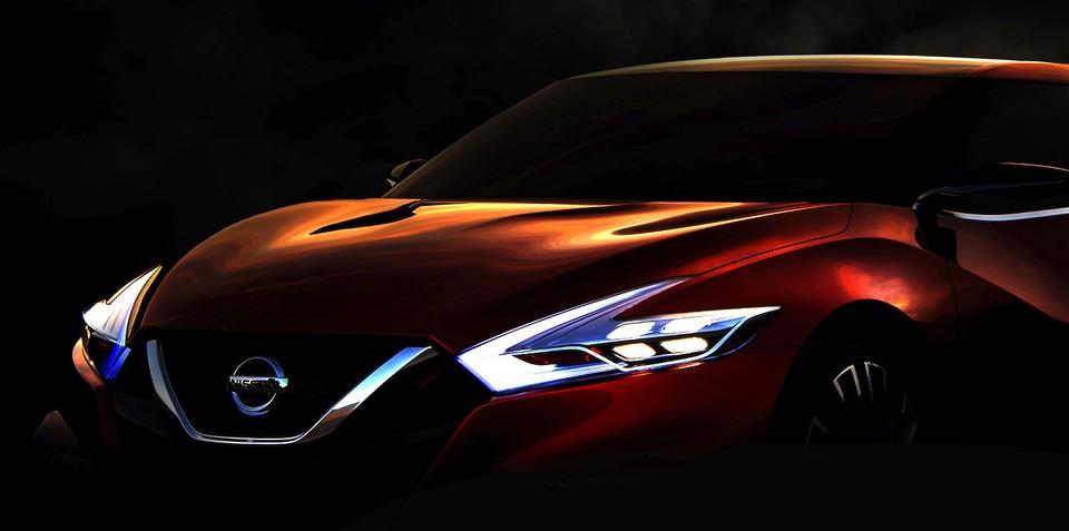 Nissan Sport Sedan concept teases next-gen US Maxima