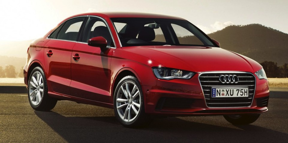 Audi A3 sedan : pricing and specifications