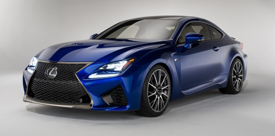 Lexus RC F : new coupe to be brand's most powerful V8 ever