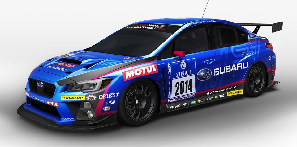 Subaru WRX STI racer previews production sports car
