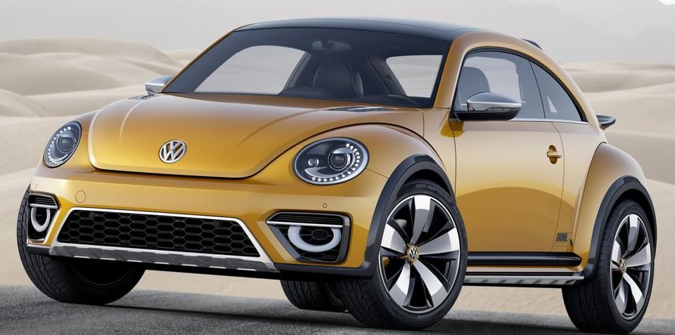 Volkswagen Beetle Dune concept revealed