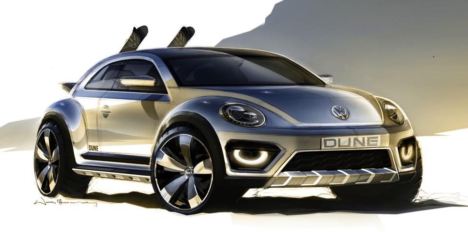 Volkswagen Beetle Dune concept : rugged Bug teased