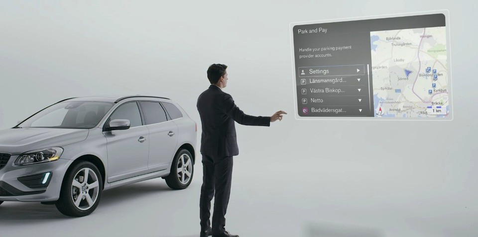 Volvo Sensus Connect finds and pays for parking for drivers