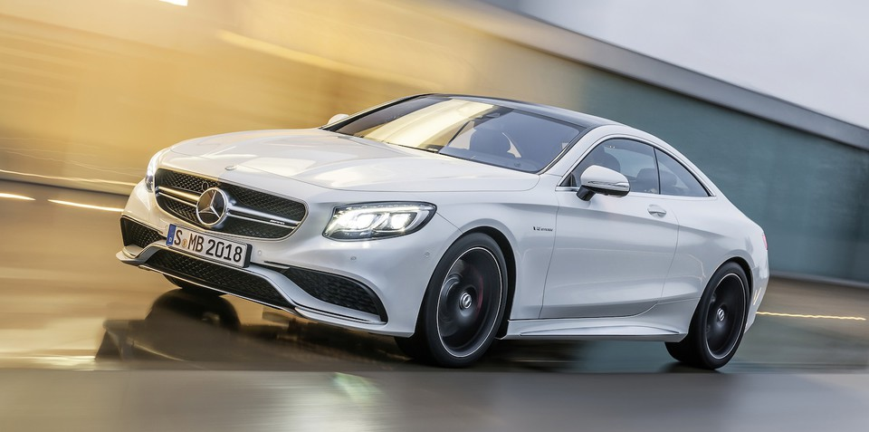 Mercedes benz s63 amg coupe sub s class revealed for Barrier mercedes benz