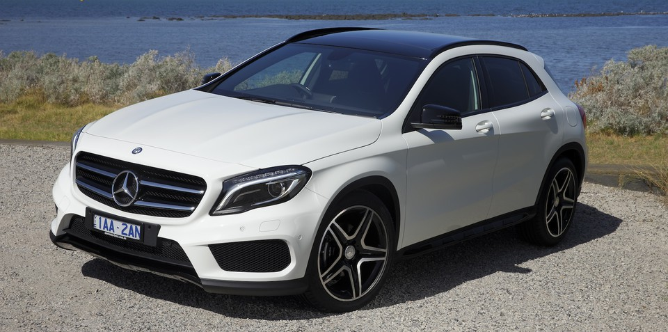 mercedes benz gla class pricing and specifications. Black Bedroom Furniture Sets. Home Design Ideas