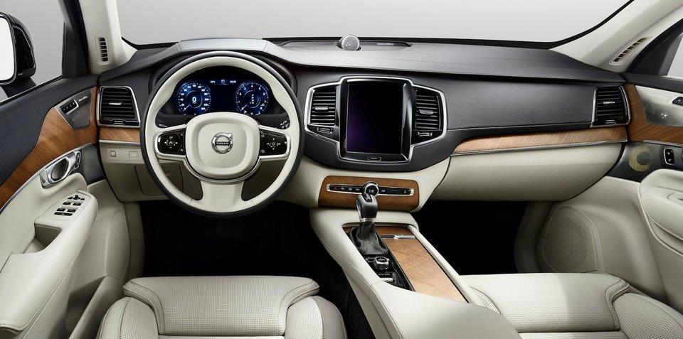 2015 Volvo XC90 interior revealed