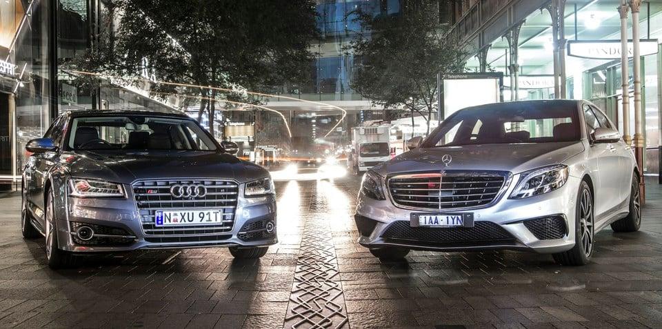 Audi S8 v Mercedes-Benz S63 AMG: Comparison Review