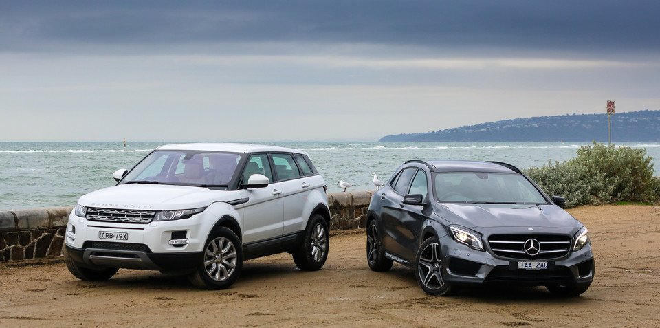 Mercedes-Benz GLA-Class v Range Rover Evoque : Comparison Review