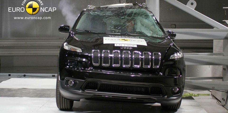 Jeep Cherokee, Honda Odyssey, Skoda Rapid and Nissan Pathfinder score five-star ANCAP crash ratings