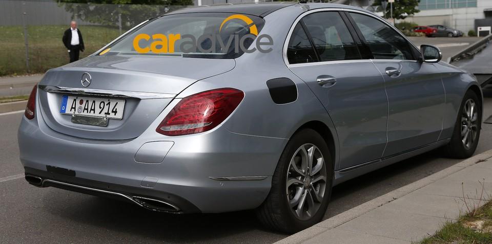 2015 Mercedes-Benz C350 Plug-In Hybrid spied