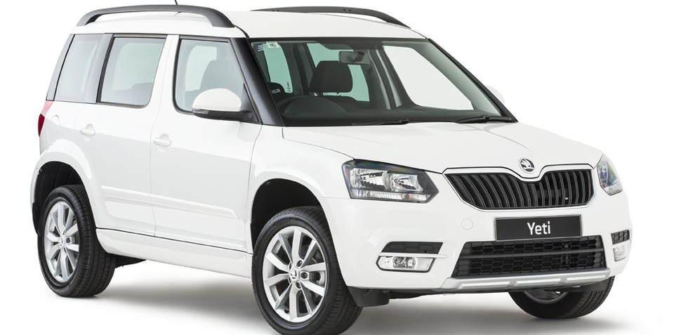 2014 Skoda Yeti :: pricing and specifications