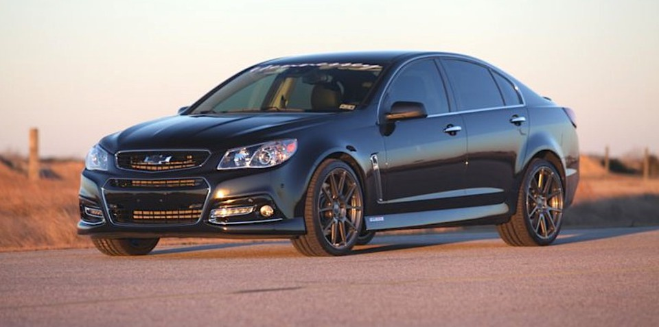 Hennessey Hpe1000 Chevrolet Ss Tuned Commodore Gets 746kw Twin Turbo 7 0l V8