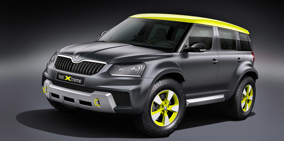Skoda Yeti Xtreme to be brand's second concept at Wörthersee 2014