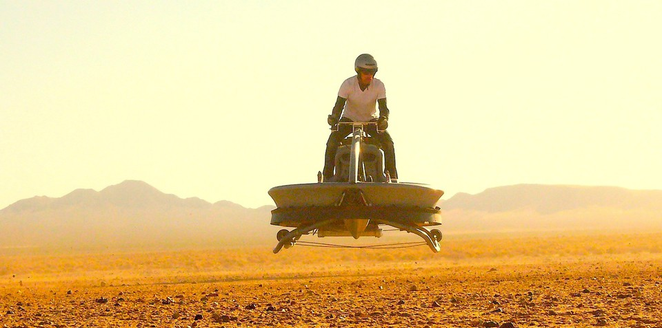 Hovercars a possibility for the future, says hoverbike maker Aerofex