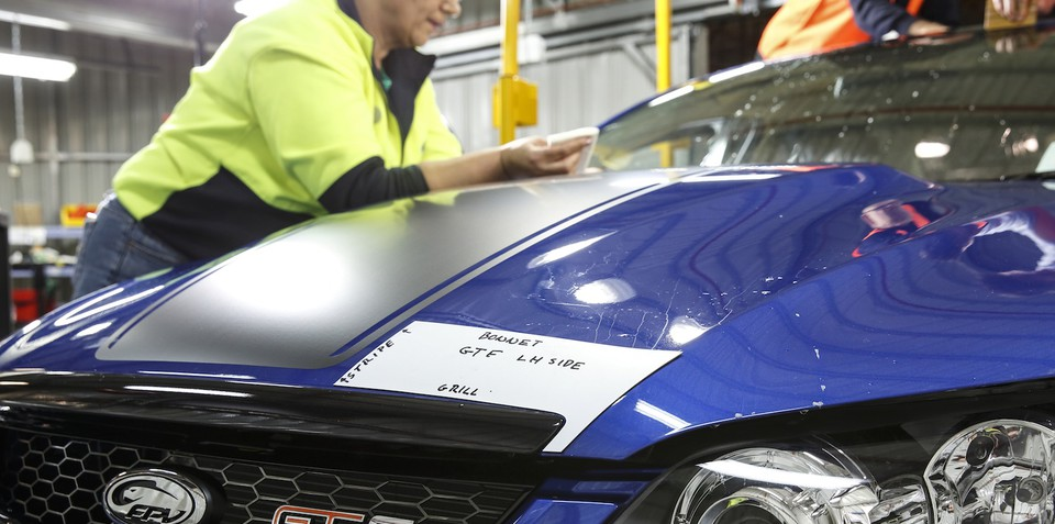 Ford Australia set to stand down 199 workers today