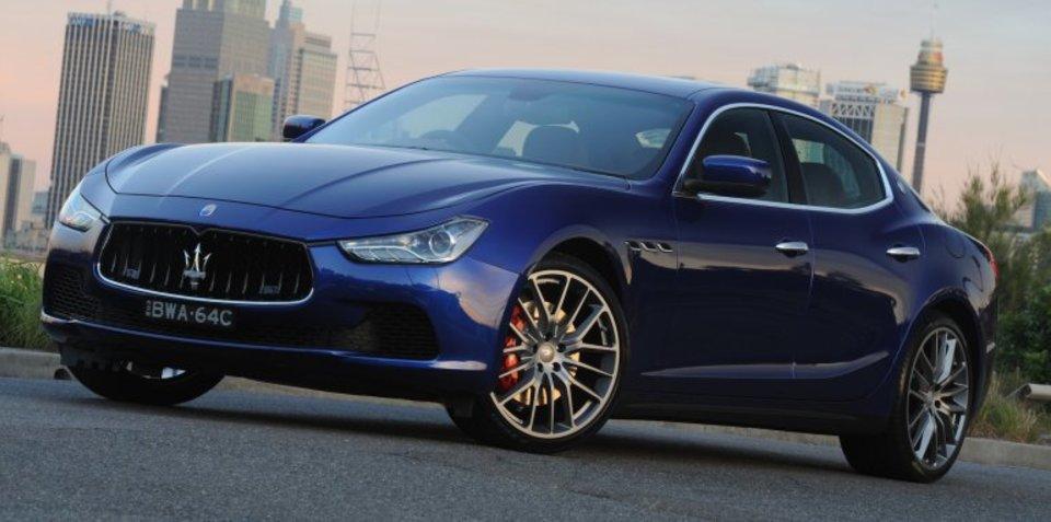 Maserati Ghibli and Quattroporte recalled for wheel alignment fix