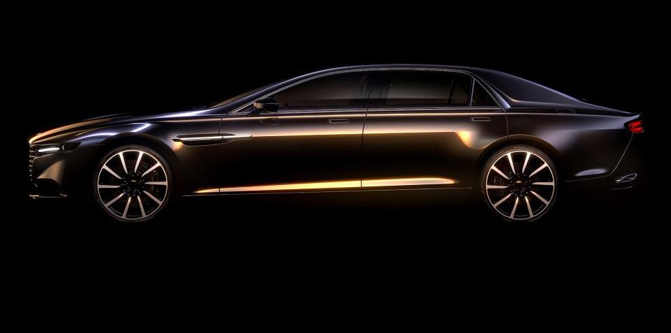 Aston Martin Lagonda luxury sedan revealed