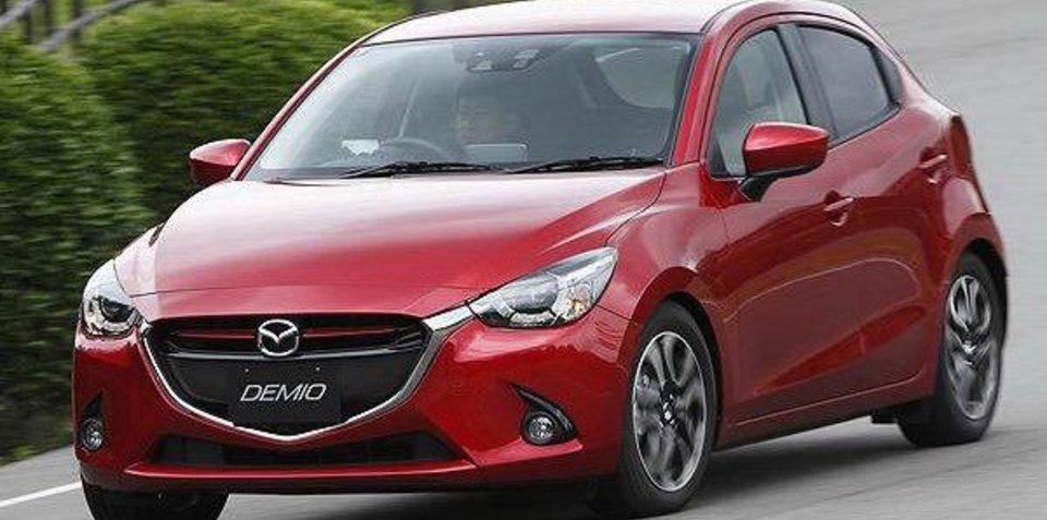 2015 Mazda 2 revealed in leaked images