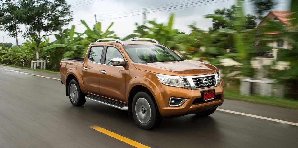 2015 nissan navara two new diesels but v6 dropped. Black Bedroom Furniture Sets. Home Design Ideas