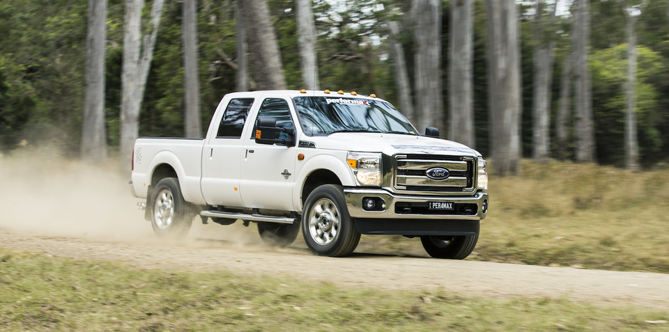 Ford F-250 on sale in Australia from $105,000