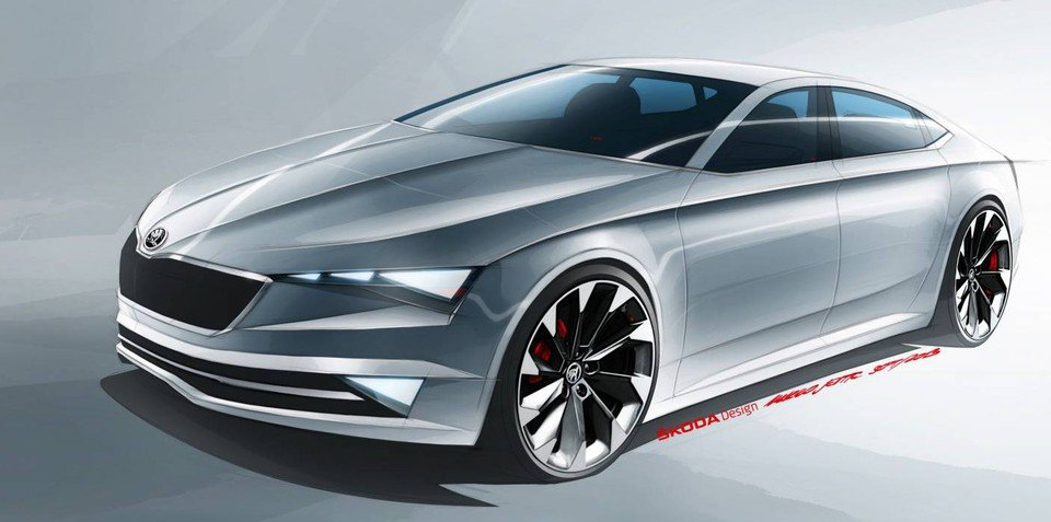2015 Skoda Superb to up the style and power stakes