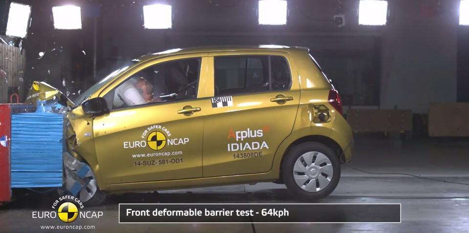 Suzuki Celerio gets just three NCAP stars