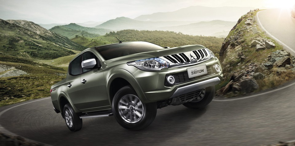 2015 Mitsubishi Triton makes world premiere