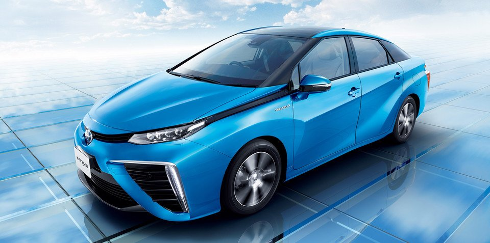 Toyota Mirai Hydrogen Fuel Cell Vehicle Detailed In Full