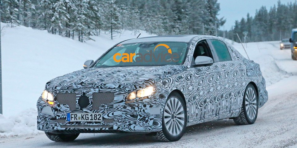 2016 Mercedes-Benz E-Class: new-generation luxury sedan spied