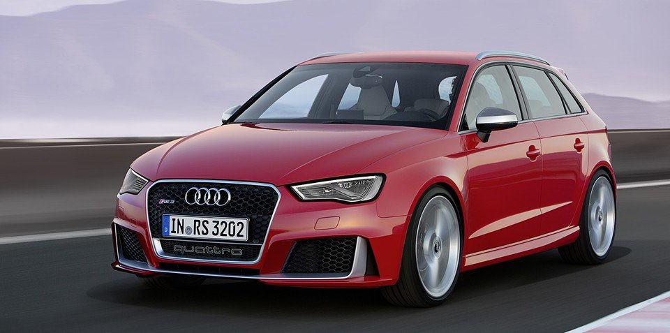 Audi RS3 Sportback emerges with 270kW five-pot powertrain