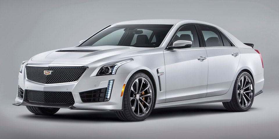 Cadillac CTS-V sedan revealed with 477kW/855Nm V8