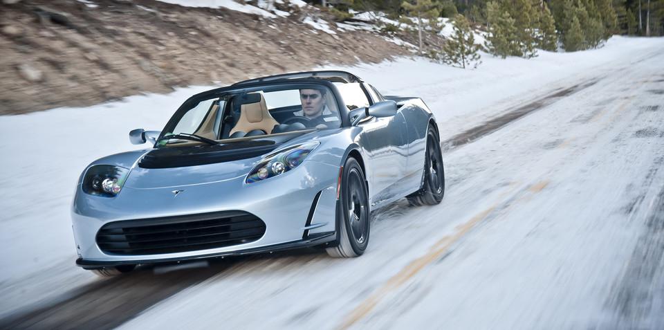 Tesla Roadster update coming next week