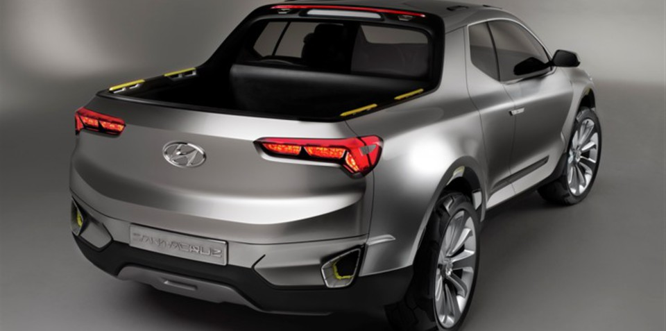 Hyundai Ute Santa Cruz Concept : The local perspective