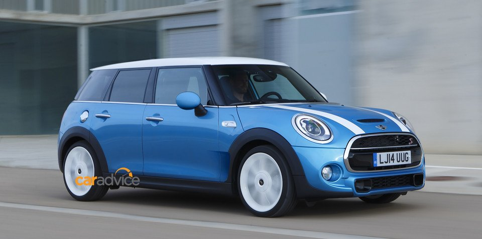 2015 Mini Clubman spied, rendered