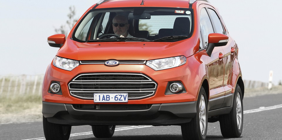 Ford EcoSport to ditch tailgate-mounted spare, get new cabin plastics and suspension - report