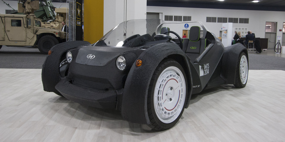 3D printed cars could revolutionise small scale manufacture, improve car safety