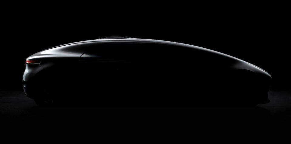 Mercedes-Benz self-driving concept teased ahead of CES