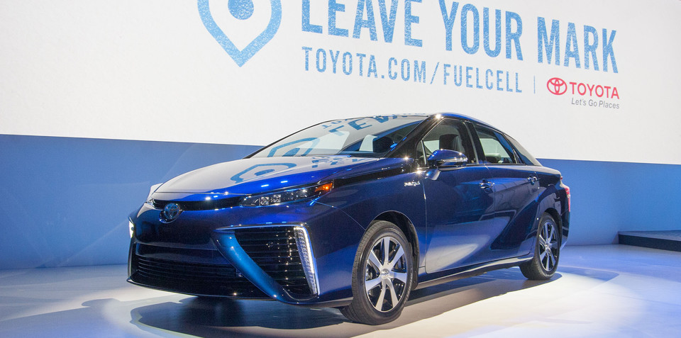 Toyota makes its hydrogen fuel cell patents freely available