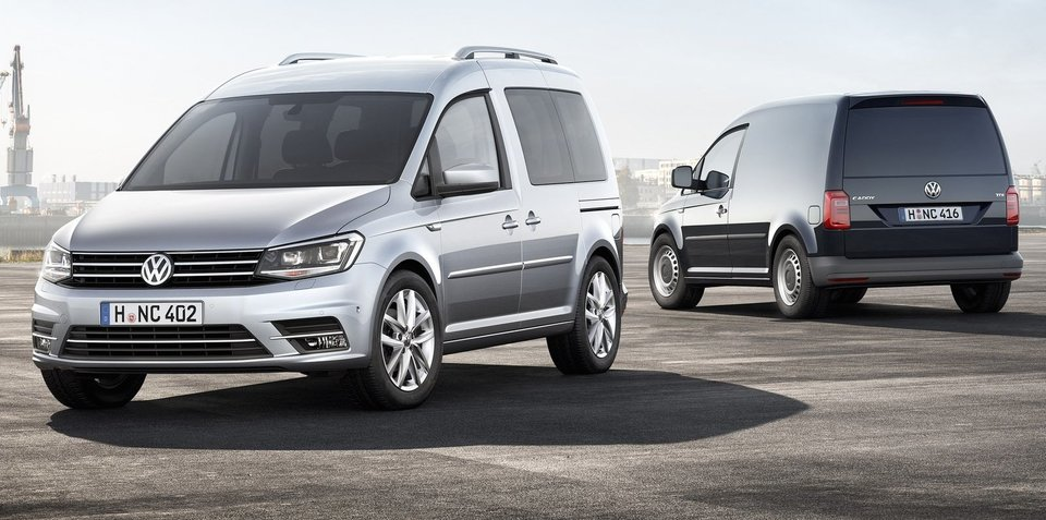 2016 Volkswagen Caddy revealed