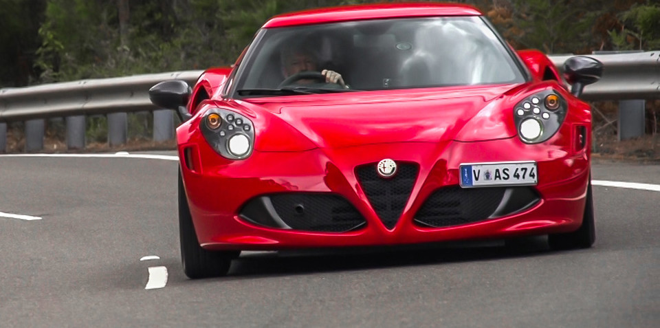 alfa romeo 4c coupe review. Black Bedroom Furniture Sets. Home Design Ideas