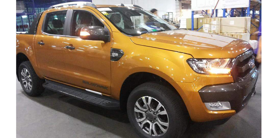 Ford Ranger facelift interior, exterior caught in even greater detail