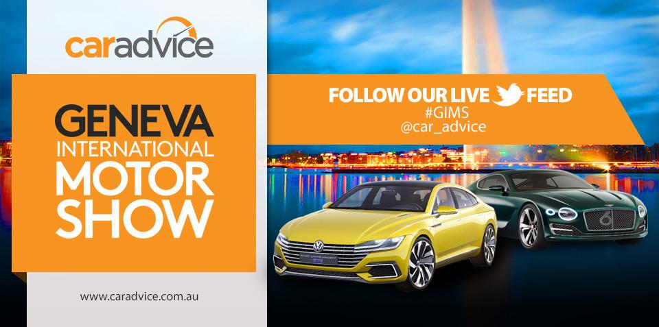 2015 Geneva Motor Show : LIVE feed