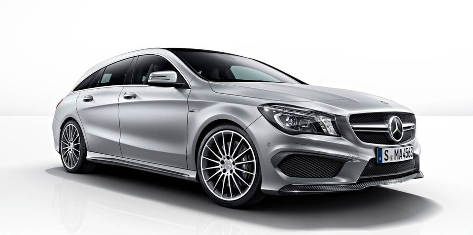 Mercedes-Benz CLA Shooting Brake pricing and specifications