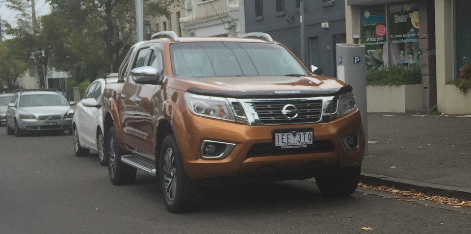 2015 Nissan Navara spotted in Melbourne ahead of local launch