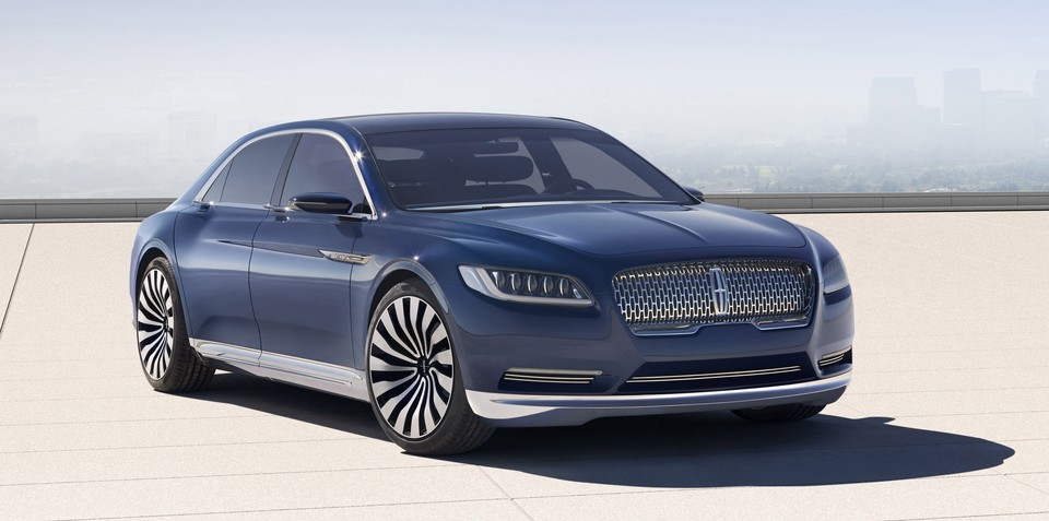 Lincoln Continental to return in 2016
